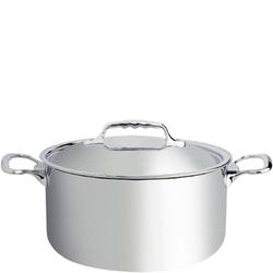 Bardzo duży garnek stalowo-aluminiowy 10,4 litra affinity de buyer d-3742-28