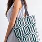 Torebka damska shopper bag lorenti sunny tangens 050 - szary