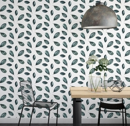 Tapeta na ścianę - sickly leaves , rodzaj - tapeta flizelinowa laminowana