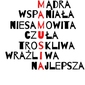 Mamusia - plakat wymiar do wyboru: 50x70 cm