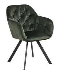 Krzesło lola vic forest green - zielony ciemny
