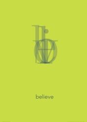 Believe - plakat