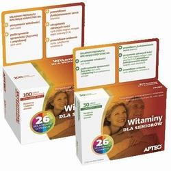Apteo witaminy dla seniorów x 30 tabletek