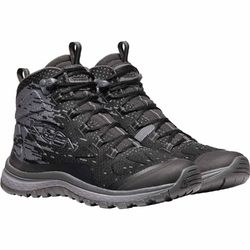 Buty trekkingowe damskie keen terradora evo mid - czarny