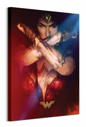 Wonder Woman Power  - obraz na płótnie