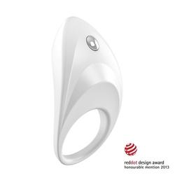 Pierścień wibrujący na penisa - ovo b7 vibrating ring  biały