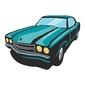 Naklejka kolorowa auto 133