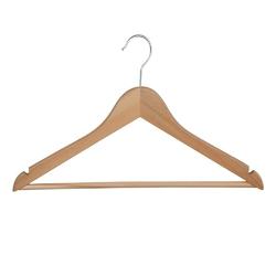 Wieszak drewniany na ubrania i odzież do szafy, komplet 5 wieszaków