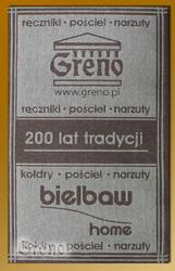 ŚCIERECZKA KUCHENNA 30X50 GRENO  BIELBAW