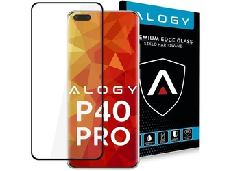 Szkło alogy full glue case friendly do huawei p40 pro black