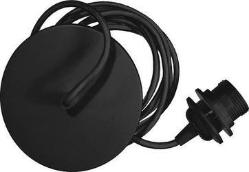 Zawieszenie do lamp rosette czarne