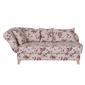 Ennis jasna sofa w kwiaty