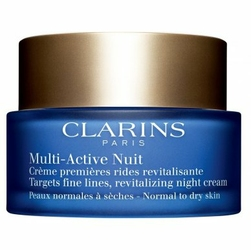 Clarins Multi Active Night Cream W odżywiający krem na noc cera sucha 50ml