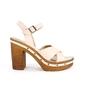 Sandały damskie gai f551 beż