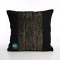 Poszewka na poduszkę bawełniana dekoracyjna altom design new york czarna ze złotem 40 x 40 cm