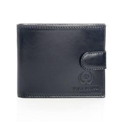 Skórzany damski portfel męski paolo peruzzi 018pp czarny