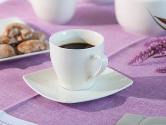 Filiżanka do kawy ze spodkiem porcelana altom design regular