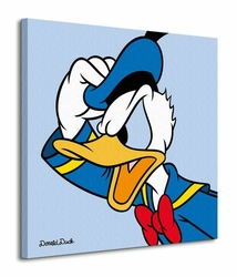 Donald Duck Blue - Obraz na płótnie
