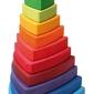 Wieża trójkątna 1+, tęczowa, grimms