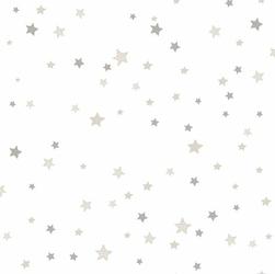 Tapeta beżowo brązowe gwiazdki babylandia 5437