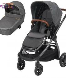 Wózek 3w1 maxi cosi adorra + gondola oria + fotelik maxi cosi rock i-size