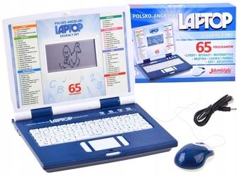 Laptop edukacyjny dla dziecka joko blue 65 funkcji