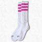 Skarpetki american socks knee high pink lavigne