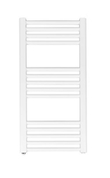 Grzejnik łazienkowy york - wykończenie proste, 400x800, białyral - biały