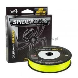 Plecionka spidewire dura 4 yellow 0,25mm150m