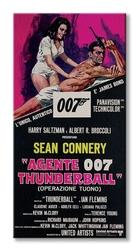 James bond thunderball italian - obraz na płótnie