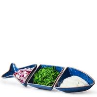 Misa do serwowania w kształcie ryby seafood sagaform trzyczęściowa sf-5017779