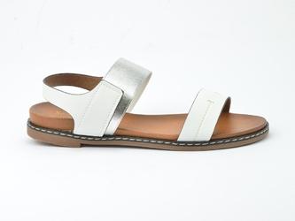 Sandały sergio leone sk014 biały