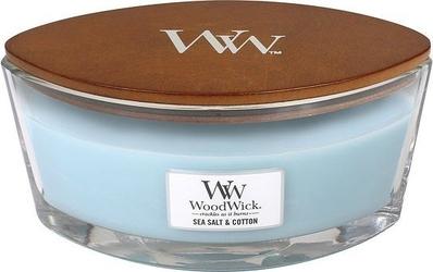 Świeca hearthwick flame woodwick sea salt  cotton