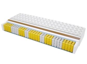 Materac kieszeniowy geneva max plus 130x155 cm twardy jednostronny