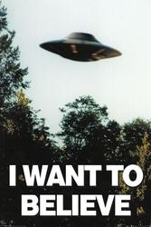 Archiwum x i want to believe - plakat