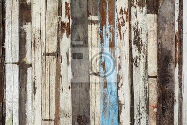 Fototapeta stare drewniane ściany plank tekstury
