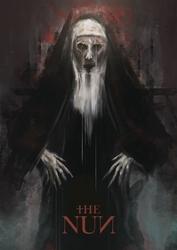 The nun - plakat premium wymiar do wyboru: 30x40 cm