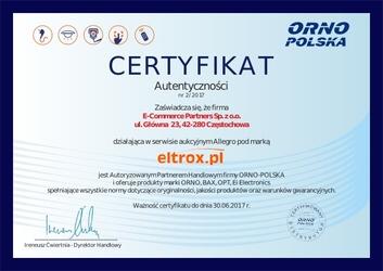 Daszek orno or-dom-rl-901dnb 9223 - możliwość montażu - zadzwoń: 34 333 57 04 - 37 sklepów w całej polsce