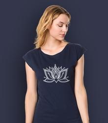 Lotos pulpet t-shirt damski granatowy m