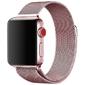 Bransoleta milanese pasek alogy do apple watch 123456se 3840mm różowa