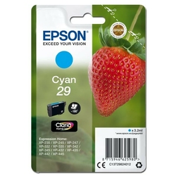 Epson oryginalny ink c13t29824012, t29, cyan, 3,2ml, epson expression home xp-235,xp-332,xp-335,xp-432,xp-435