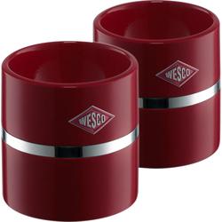 Podstawki do jajek Wesco rubinowe W-322864-58