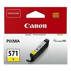 Tusz Oryginalny Canon CLI-571 Y 0388C001 Żółty - DARMOWA DOSTAWA w 24h