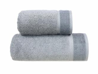 Ręcznik SOFT Greno stalowy - stalowy