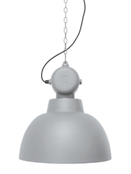 HK Living :: Lampa wisząca Factory M Ø40cm -jasnoszara - jasnoszara