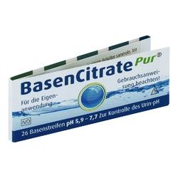 Basen citrate pur paski testowe ph 5,9-7,7