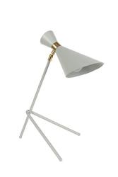 Zuiver :: lampa stołowa metalowa shady szara
