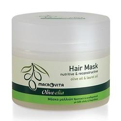 Macrovita olive-elia odżywcza maska do włosów intensywnie regenerująca z bio-składnikami 200ml - 200ml