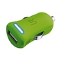 Trust urbanrevolt 5w car charger - lime green
