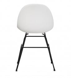 Krzesło z plastikowym siedziskiem verona